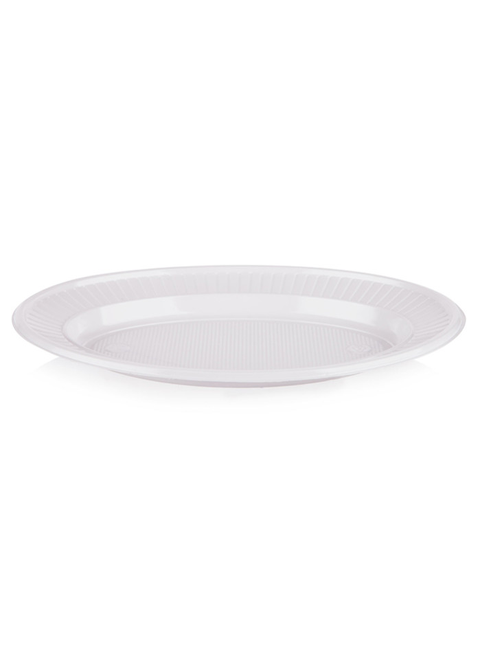 Plate PS SNACK ovaler STD07